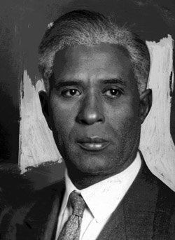 Garrett Morgan was a a man of many skills.  He improved the sewing machine, also the first traffic light and the WWI gas mask.