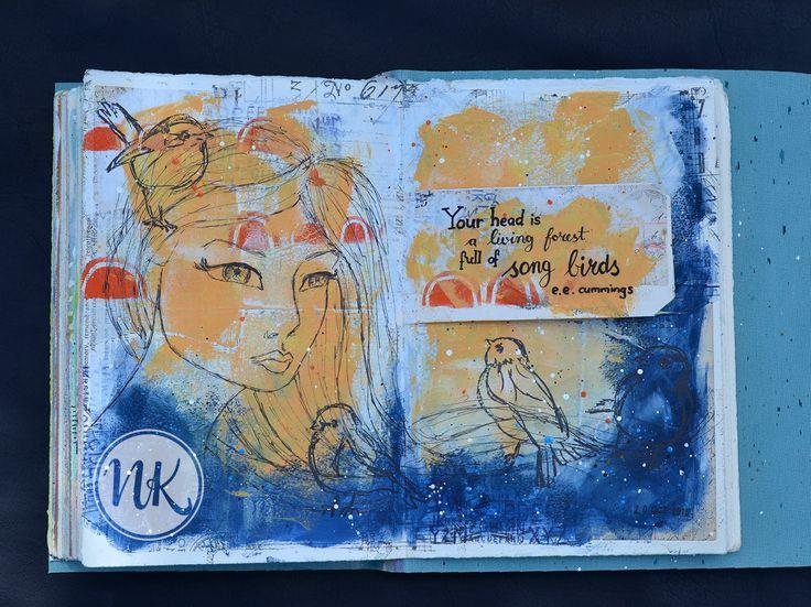 Nat's art journal 10th October 2015