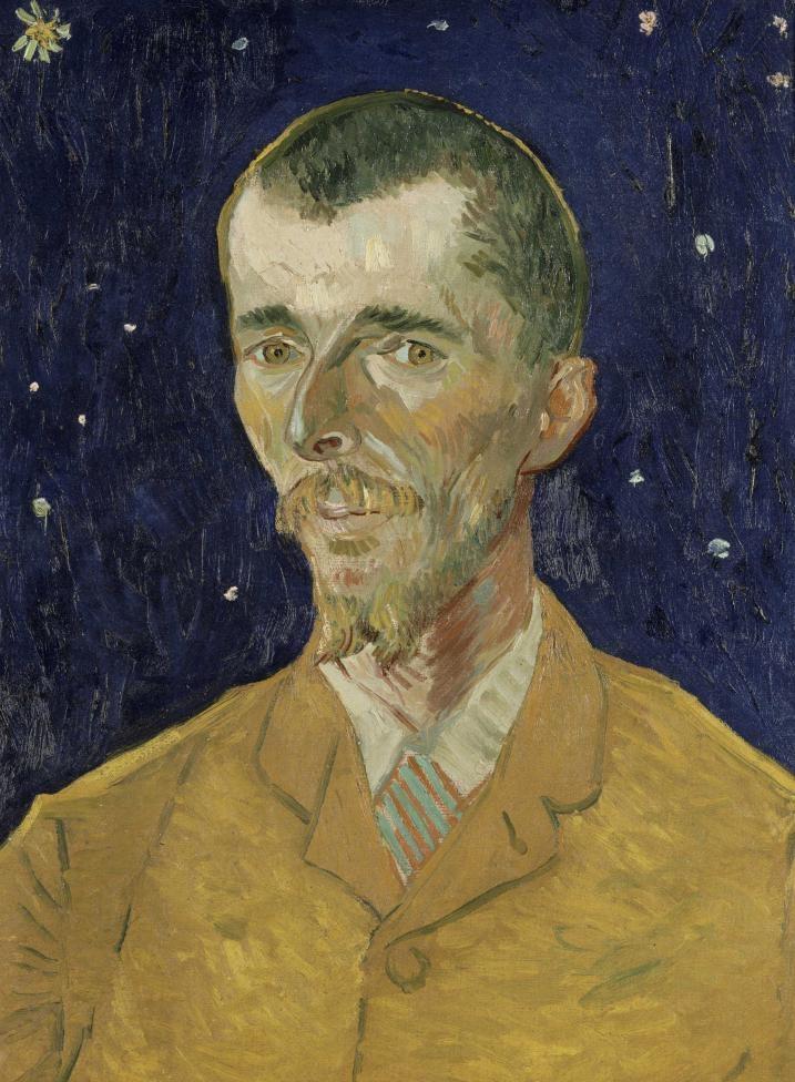 유진 보슈의 초상(1855-1941) - 고흐