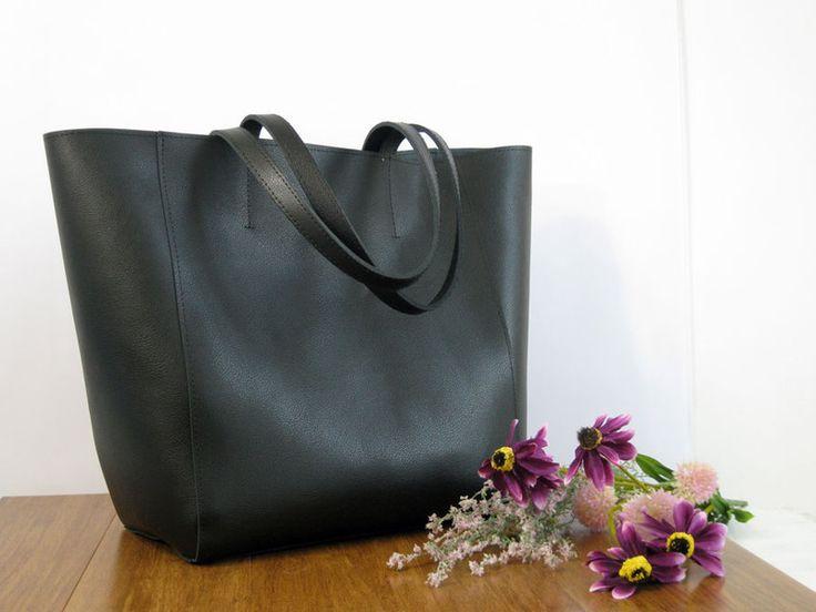 Handtasche - Leder Handtasche - BIG  handtasche XXL - ein Designerstück von Torebka-skorzana bei DaWanda