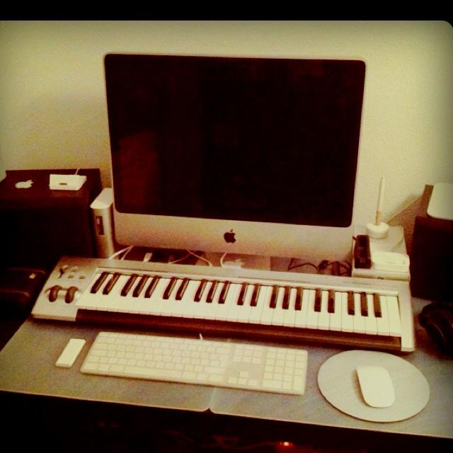 Music home studio (2010)