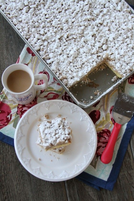 Old Fashioned Crumb Cake Recipe Scratch
