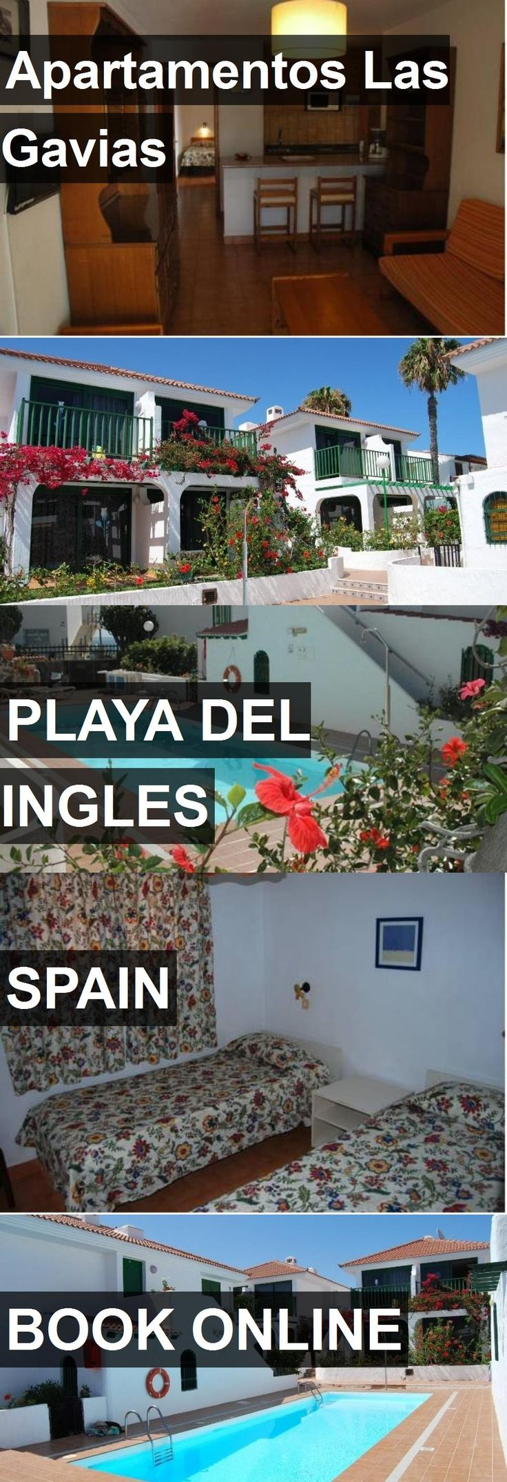 Hotel Apartamentos Las Gavias in Playa del Ingles, Spain. For more information, photos, reviews and best prices please follow the link. #Spain #PlayadelIngles #hotel #travel #vacation