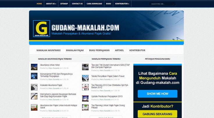 Download makalah perpajakan dan akuntansi pajak gratis di gudang-makalah.com!