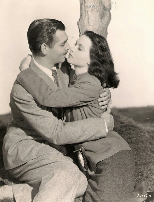 Clark Gable and Hedy Lamarr