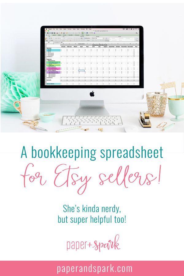 The Bestselling Etsy Seller Spreadsheet | Online Business