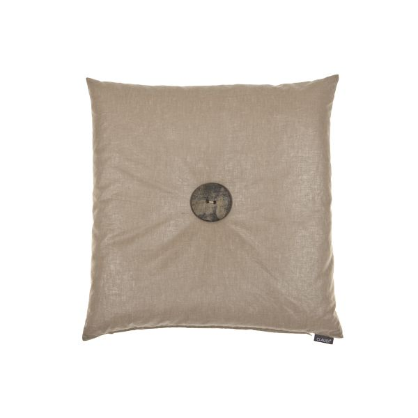Claudi Exclusive Cushions Sabino Caramel 50x50 cm With Wood XXL