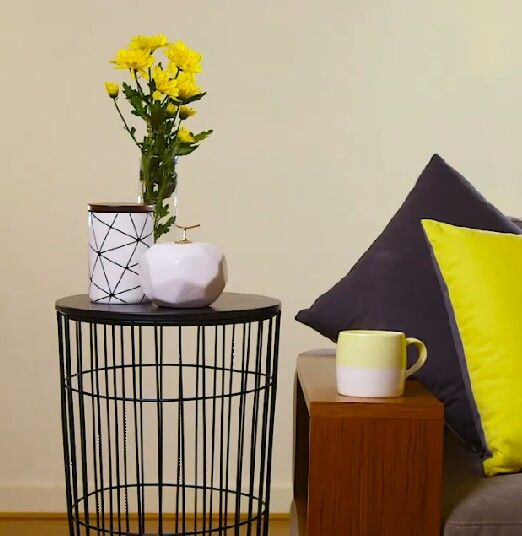 Target side table styling