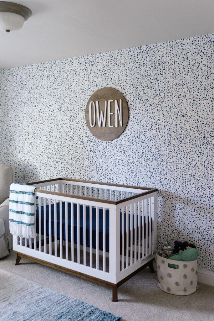 Owens Blue Green Nursery Tanner Pinterest Nursery Blue