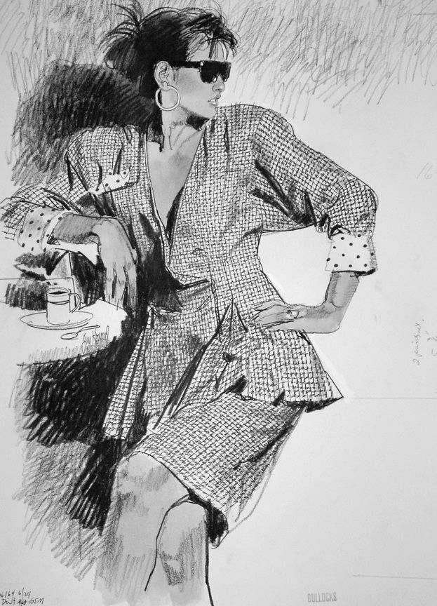 Jim Howard Fashion Illustrator