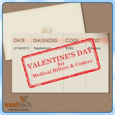Medical Billing and Coding #Valentine #Ecard