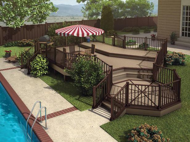 Landscape Deck Design Raised Ranch Decks Raised Vs