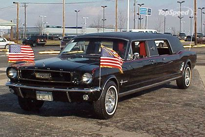 1966 Ford Mustang Limousine