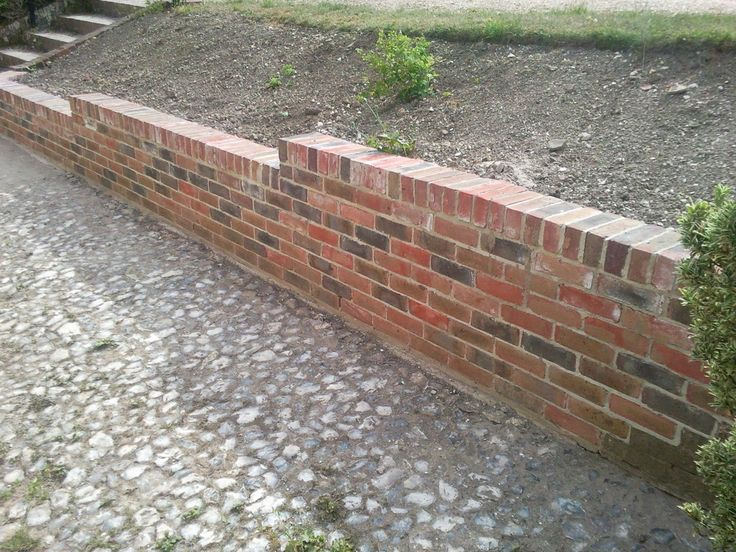 Design Of Brick Retaining Wall : Retaining herb wall google search aiaideed