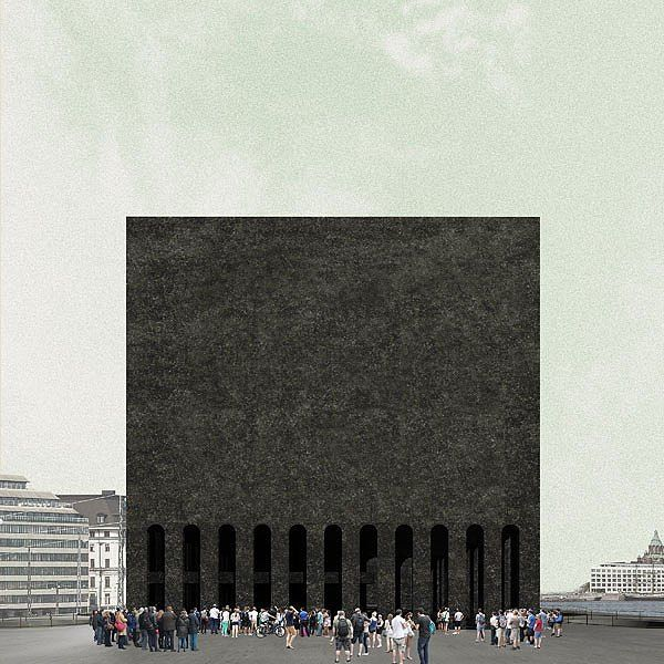 PEDRO DUARTE BENTO_GABBRO | PROPOSAL FOR GUGGENHEIM HELSINKI, FINLAND, INTERNATIONAL COMPETITION REDUX*, 2014/15