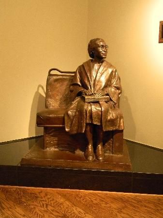 Troy University's Rosa Parks Museum; a truly awesome day was spent here in April 2013.