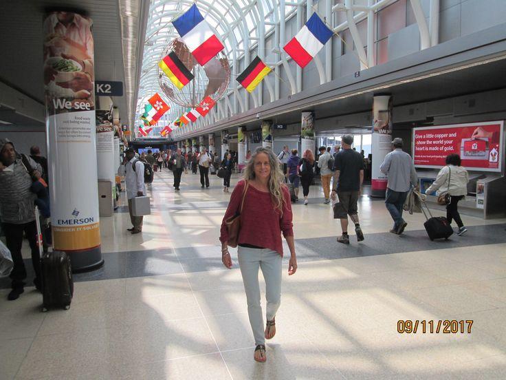 Chicago O'Hare International Airport Sept 2017