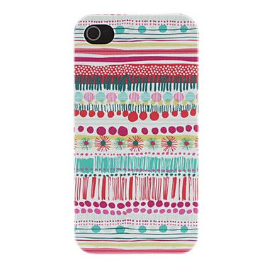 Colorful Fairy Tale's World Pattern PC Hard Case for iPhone 4/4S – BRL R$ 13,21