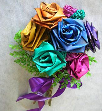 Flax Bouquets ~ Designer of FLAX T ROSES© &Flax flower Bouquets ~ Flax flower arrangements