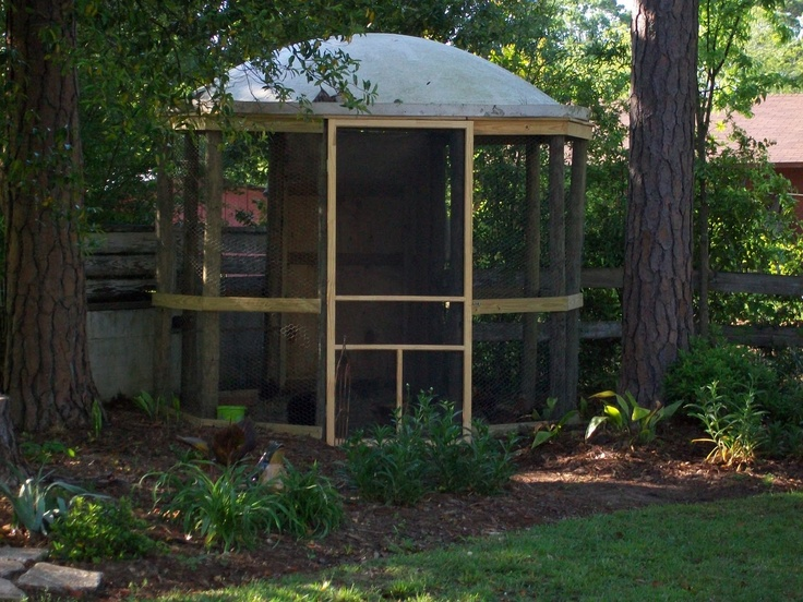 33 best images about grain bin structures on pinterest for Gazebo chicken coop