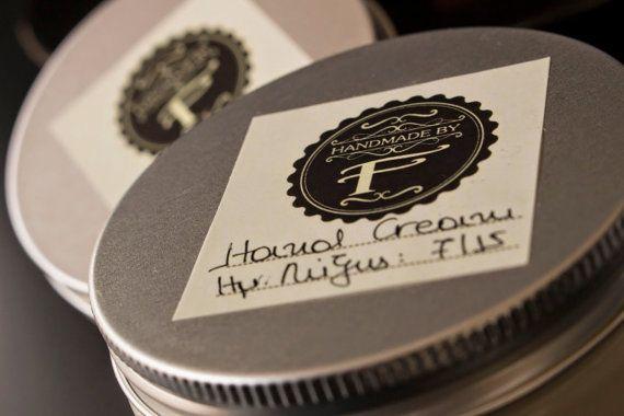 Frangipani hand cream 60gr. by HandmadebyFotini on Etsy