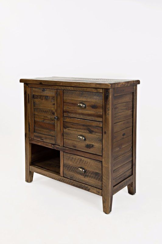 Loon Peak Arviso 2 Drawer Accent Cabinet Reviews