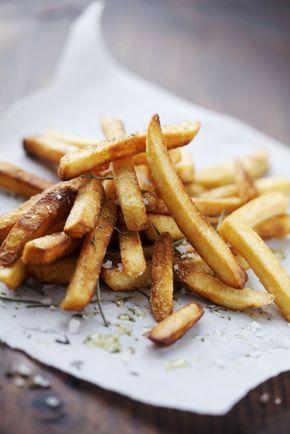 knapperige #oven #frietjes met weinig olie #aardappel