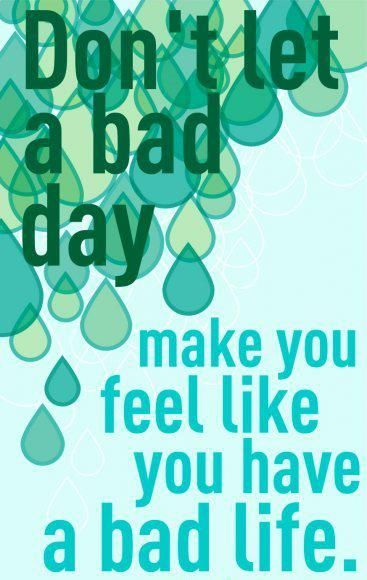 Sometimes it's just bad day