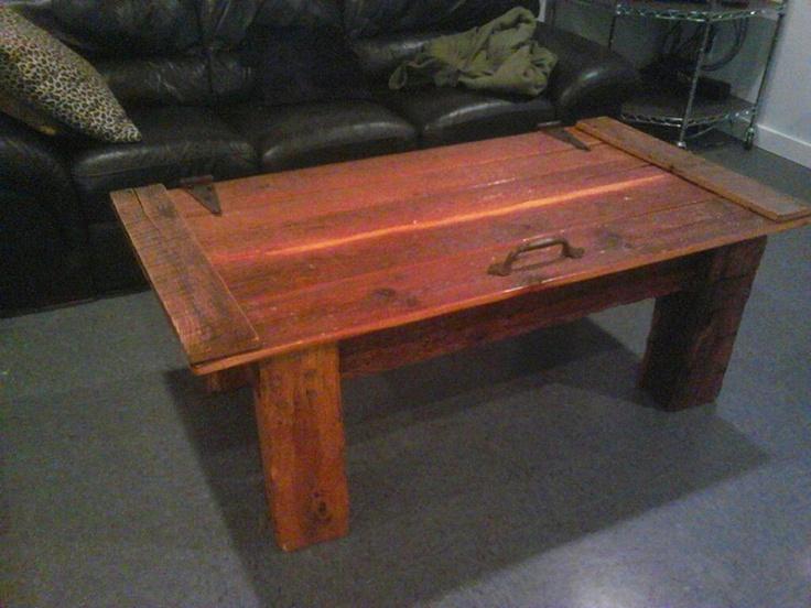 Barn Door Coffee Table Has New Home Barn Wood Tables We Have Built