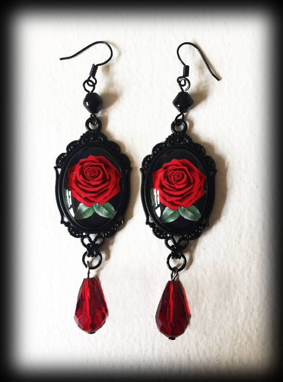 Best 25+ Gothic earrings ideas on Pinterest