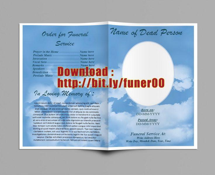Télécharger modèle de programme funérailles gratuitement à utiliser dans le service funéraire, commémoratif, écrit décès, ordre de service.