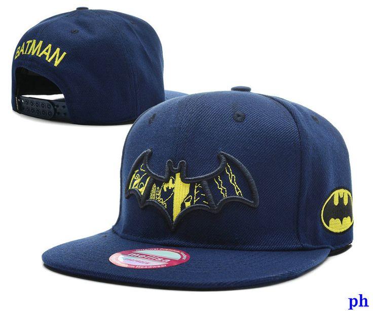 hiphop gorras batman planas azul-006