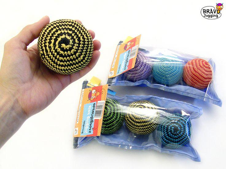 BravoBalls - crochet juggling balls - from Bravo Juggling order: bravojuggling@gmail.com