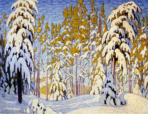 Winter, North Woods c.1917-18 Lawren Harris