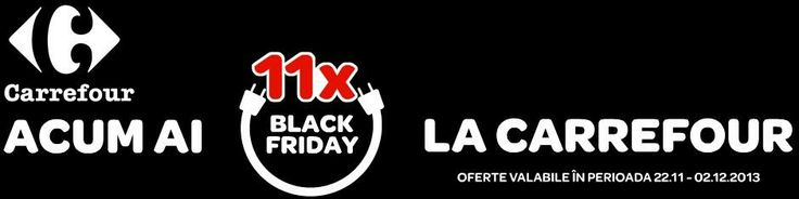 This year again, Carrefour runs its Black Friday campaign. -- Gildas Aitamer @GildasPR