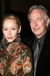In attendance, the My Name is Rachel Corrie team of leading lady Megan Dodds and her director, the actor Alan Rickman.
