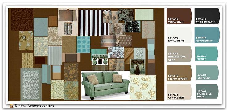Top 25 Ideas About Aqua Color Schemes On Pinterest Aqua Color House Color Palettes And Colour