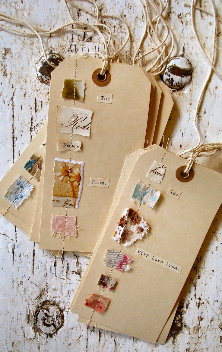handmade gift labels