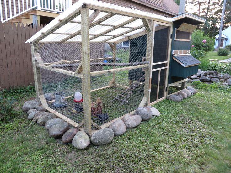 11 best images about chicken coop diy on pinterest my for Diy chicken run