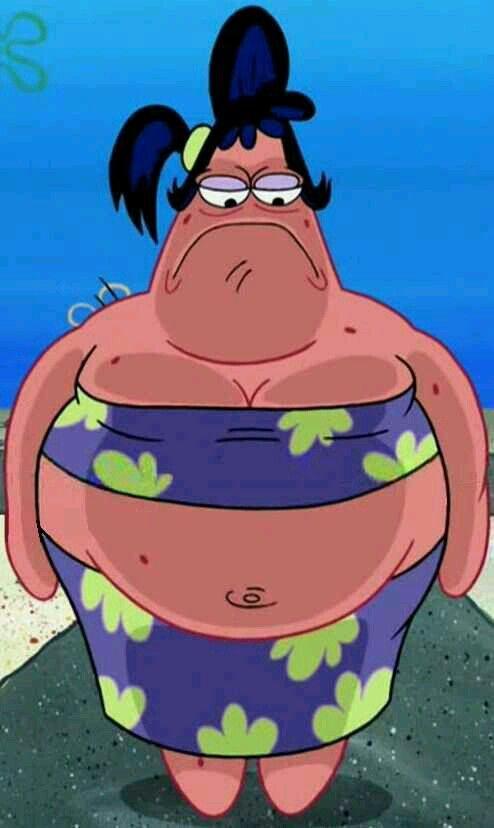 Its Patricia Lol Spongebob Funny Spongebob Wallpaper