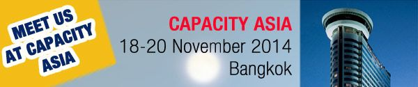 Meet TelServ at #Capacity #Asia in #Bangkok! Make your appointment now! #telecom