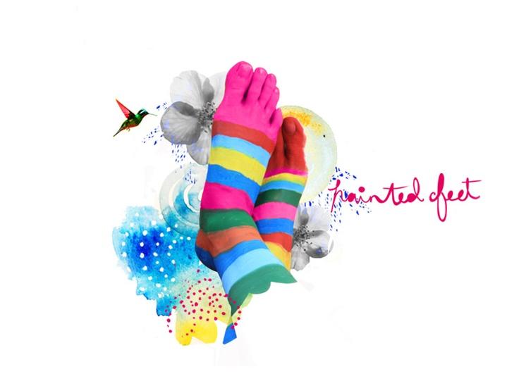 paintedfeet: Fierce Black, Creative Blog, Beautiful Work, Damn Neat, Blog Design, Drawings Deepli, Soft Drawings, Blog Headers, God Rainbows