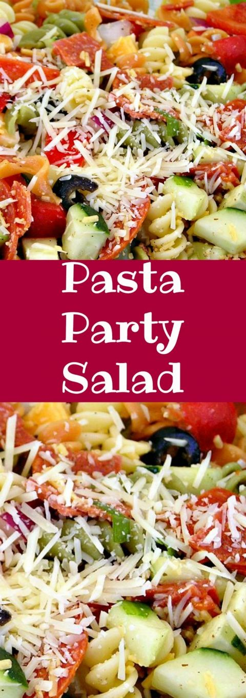 Pasta Party Salad It 39 S Certainly Popular At Party Time