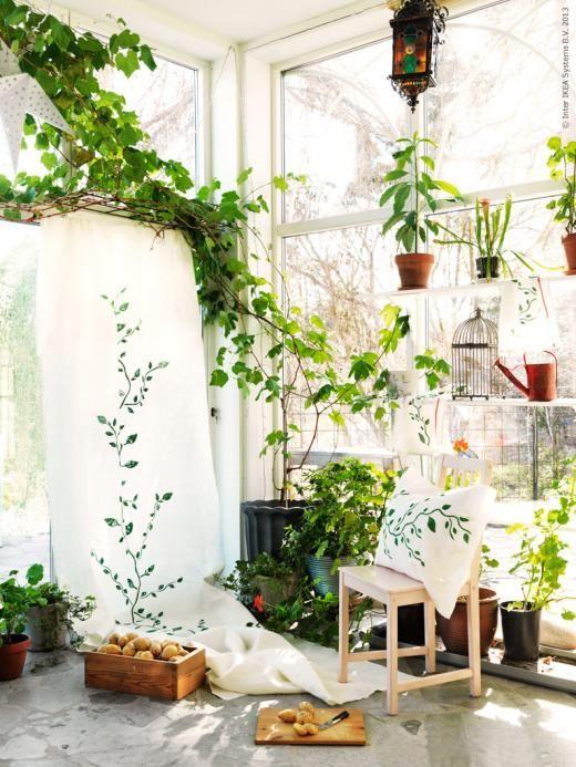 Diy gr na pot ter redaktionen inspiration fr n ikea for Ad garden rooms