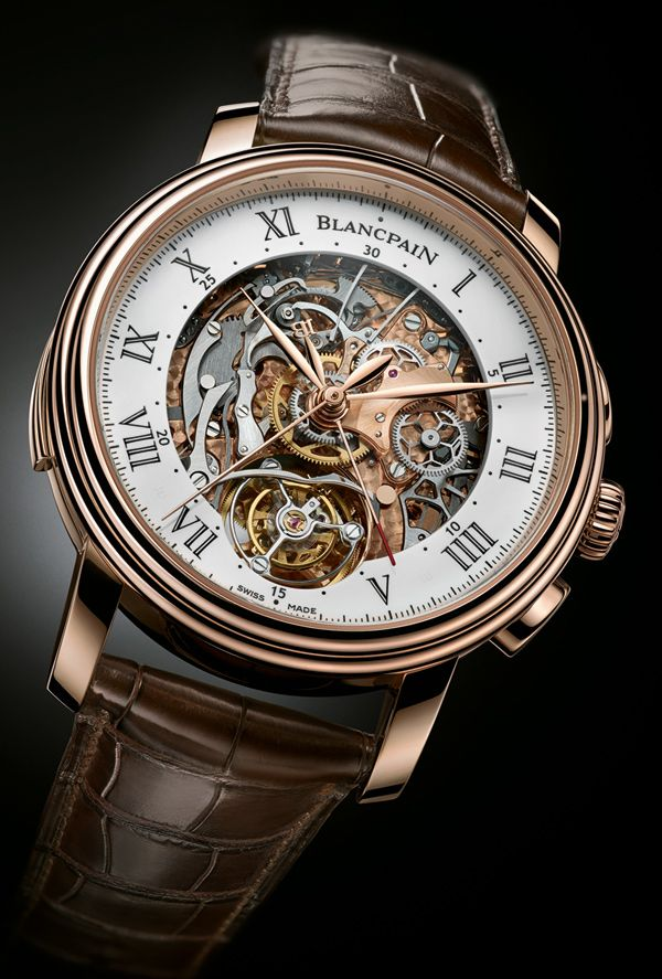 #Blancpain Carrousel Minute Repeater Chronograph: First Watch With All Three Complications Together
