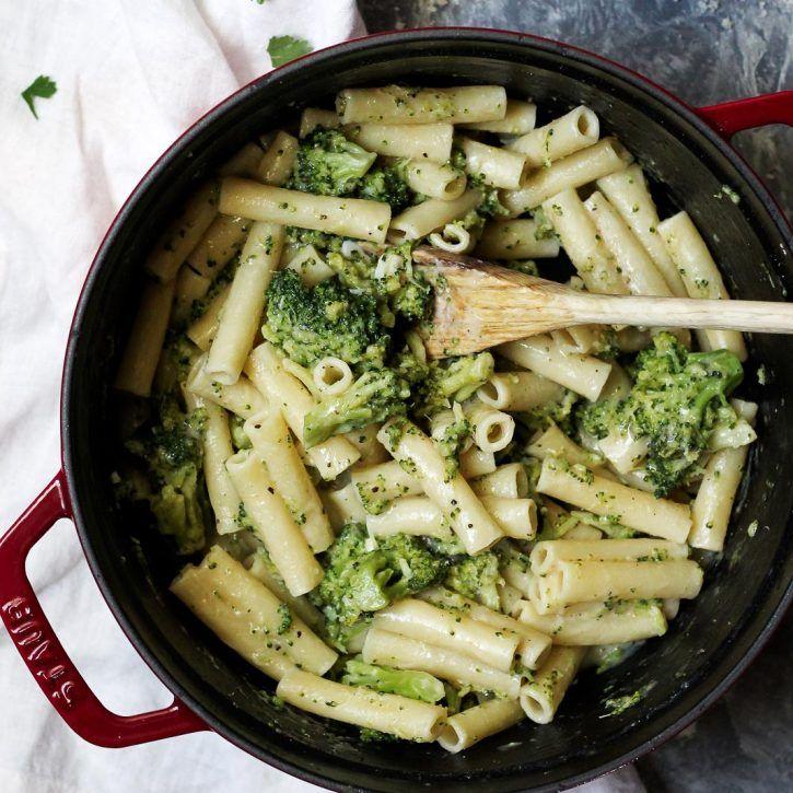 30 Minute Skinny Alfredo Ziti With Broccoli  Recipe -5670