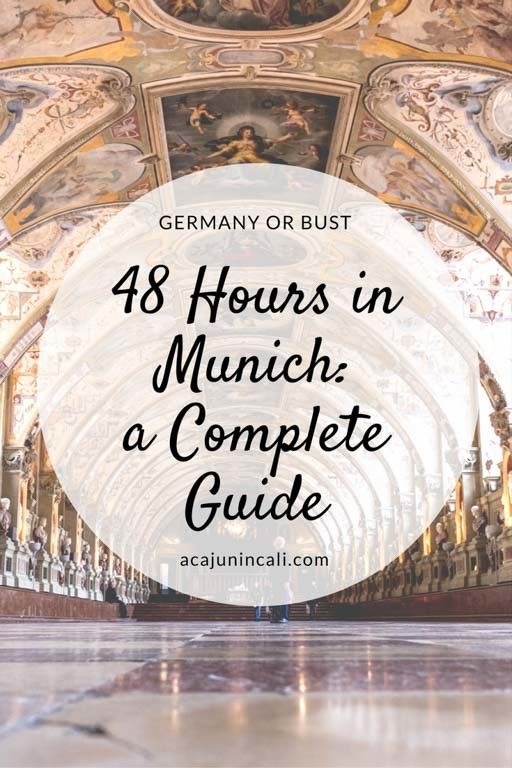48 Hours in Munich Travel Guide: Where to go, eat, & sleep!