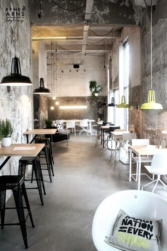 an industrial deli and take away at the leidingstraat industrial restaurant designindustrial