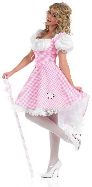 Bo Peep plus size ladies fancy dress costume