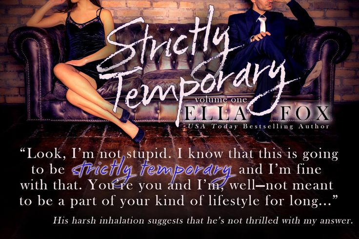 Strictly Temporary teaser from Author K Webster!